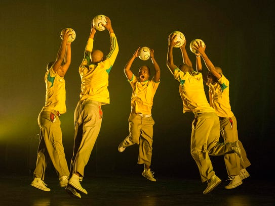 The free Festival of South African Dance, featuring