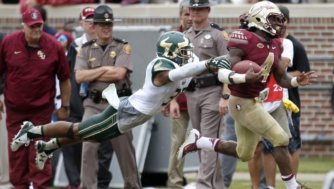 Dalvin Cook ran for 266 yards and three touchdowns against USF last season in Tallahassee.