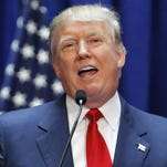 Real estate mogul Donald Trump announces his bid for the presidency at the Trump Tower on Fifth Avenue in New York City in June.