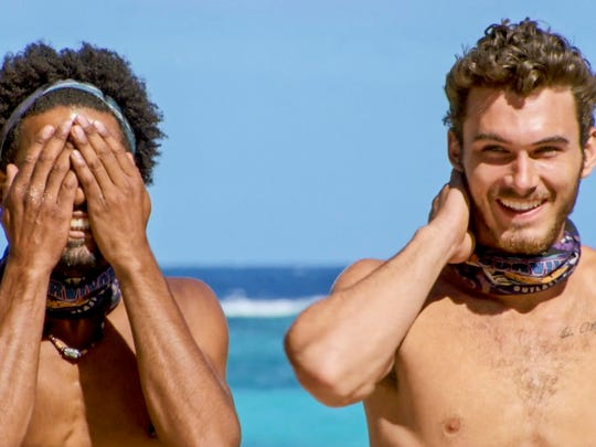 "Wendell Holland and Michael Yerger on ""Survivor: Ghost Island."""