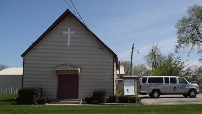 The city plans to use eminent domain to purchase King of Kings Missionary Baptist Church on the southeast side to make way for a new municipal services center to house public works equipment.