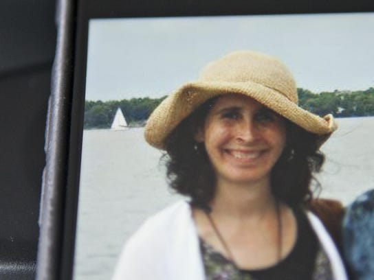 Lara Sobel, 48, of East Montpelier is seen in this family photo shared on Facebook by the Vermont State Employees' Association following her killing in August 2015.