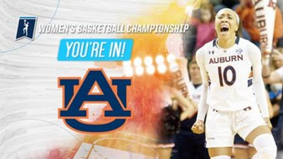 Auburn selected to the NCAA women's basketball tournament