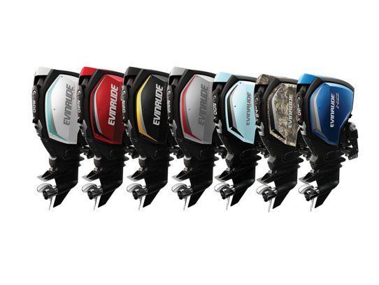 The Evinrude G2 line of engines.