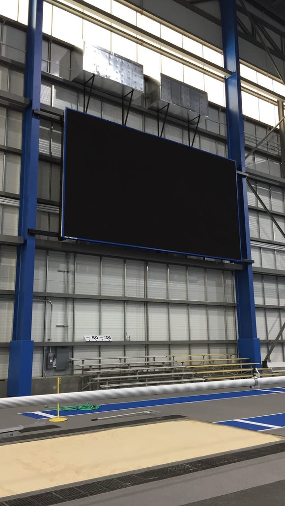 SDSU has added a new video board to the Sanford Jackrabbit Athletic Complex.