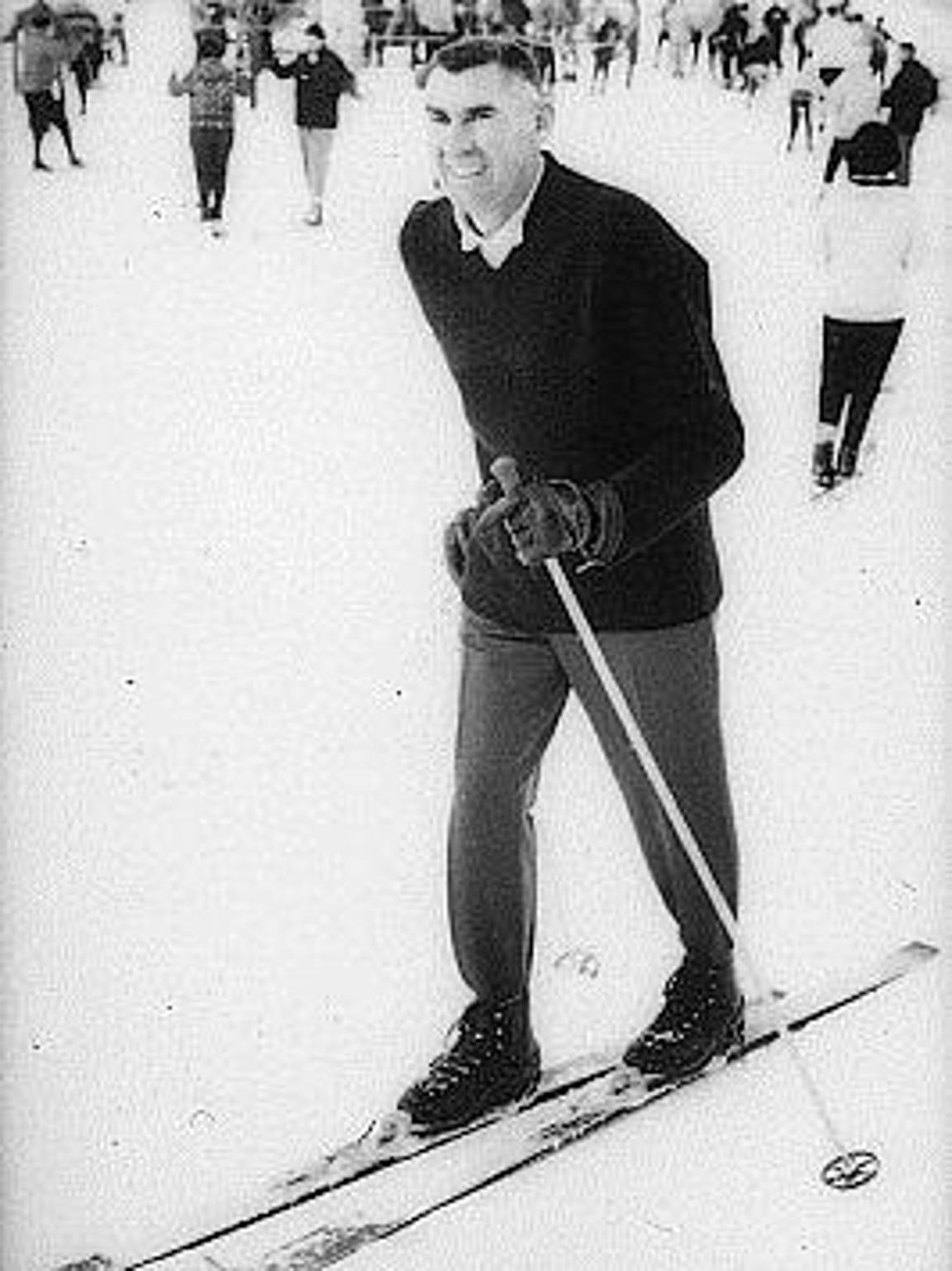 Walt Schoenknecht opened Mount Snow on Dec. 12, 1954.