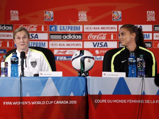 Soccer: Women's World Cup-Training Session USA