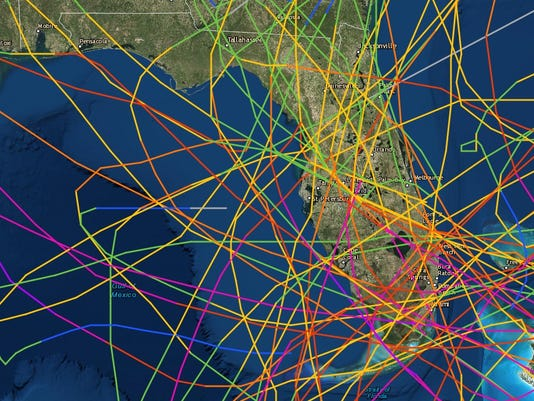 Florida Hurricane Magnet For A Century
