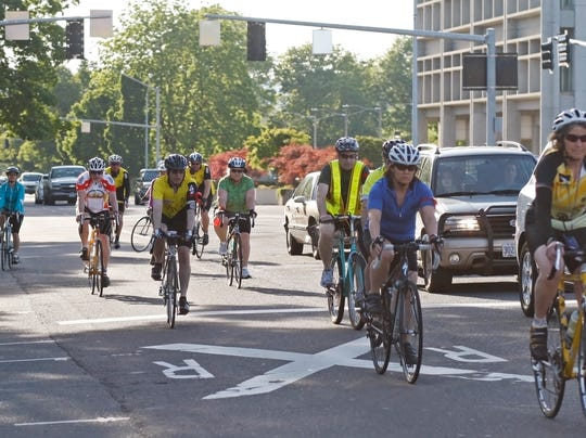The Ride of Silence bike rally to honor fallen and injured cyclists will ride in Salem Wednesday, May 16.