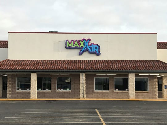 MaxAir recently opened in the old Teleperformance location