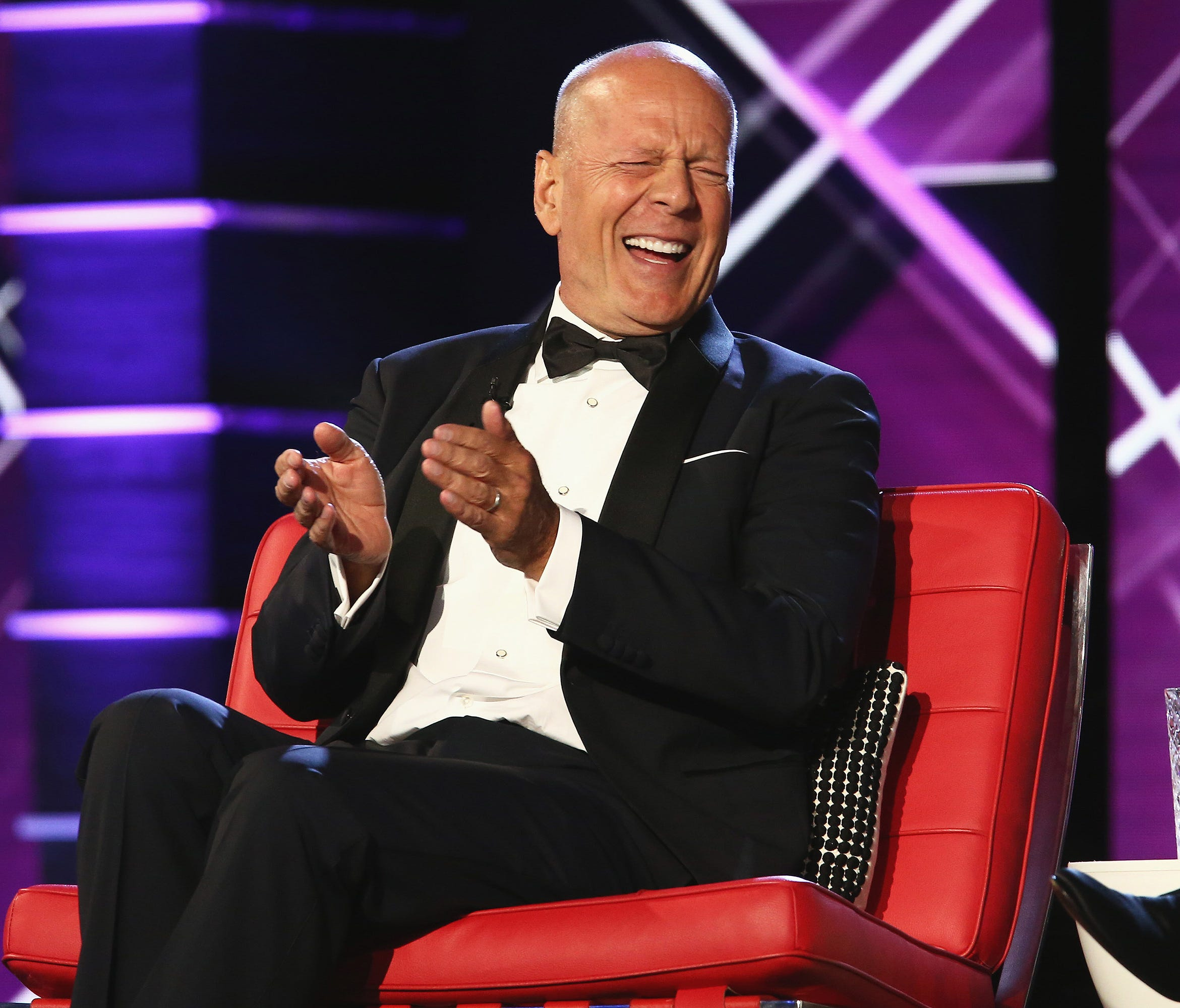 Bruce Willis laughed at himself plenty during his Comedy Central roast.