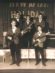 After 56 years, Rocky & The Continentals - shown here