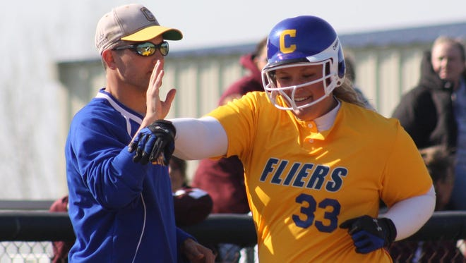 Clyde coach Marc Marshall is a member of the Ohio High School Fastpitch Coaches Association Hall of Fame.