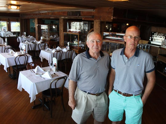 Ray Cosgrove and his son, Jay, are the owners of Bahrs Landing in Highlands. The restaurant was opened in 1917 by Jay's great-grandfather, John Bahrs.