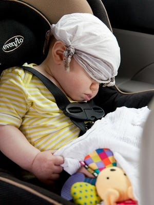 "Sleeping on not,  Kansas law requires children under age 4 to be correctly secured in an approved child safety seat. McPherson Police will be checking during   ""Ticket or Treat"" from Oct. 26 to 30."