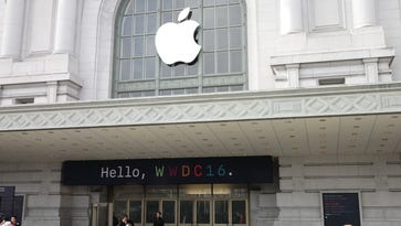 Apple's Worldwide Developers Conference in San Francisco.