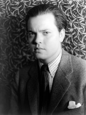 """Kenosha-born Orson Welles is shown in a 1937 photo, the same year the 22-year-old actor first appeared on the radio in """"The Shadow."""""""