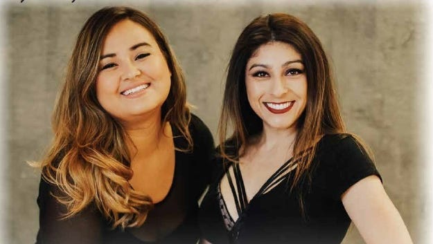 Jenny Ponce and Rosalinda Verde will perform Tuesday night in Visalia.