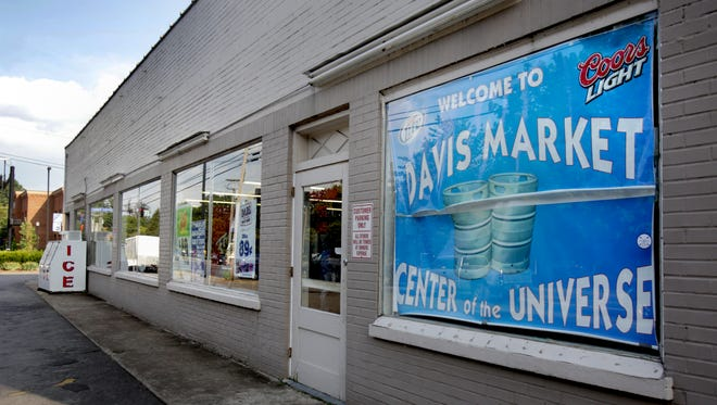 Davis Market on the corner of Tennessee and Main Street in Murfreesboro, across the street from MTSU, has been called the Center of the Universe for many years.