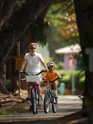 Providing safe paths increases outdoor activity among the people who live, work and play in Lee County.