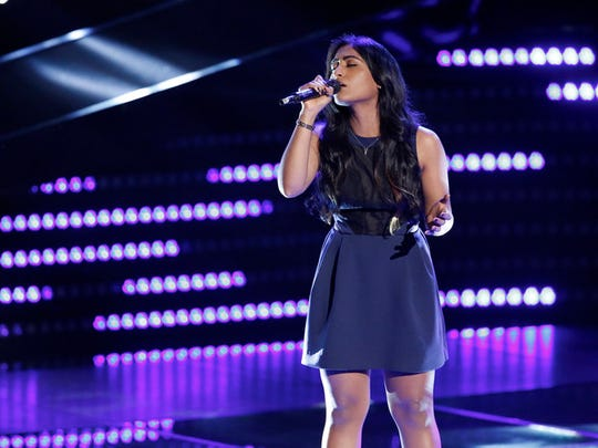 "Edison's Moushumi drew high praise from the coaches in her Blind Audition on ""The Voice"" and secured one of the last spots on Team Pharrell."