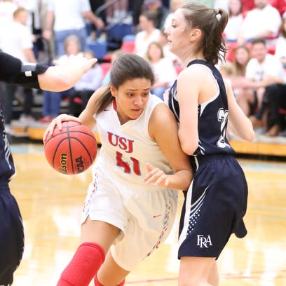 USJ girls advance to state semifinals with win over FRA