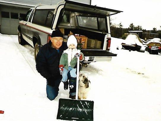John Stanchak alongside his beloved grandson, Kyle.