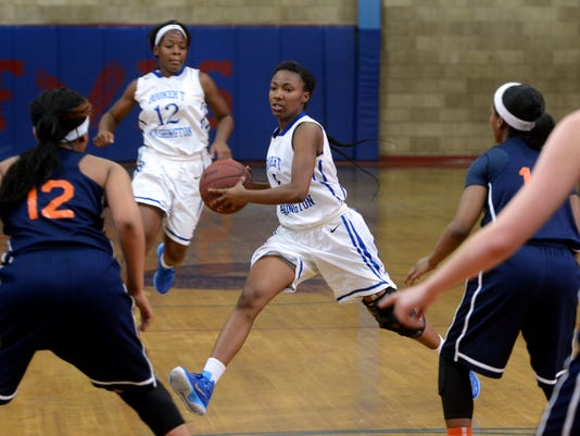 Washington High School girls basketball dominates the Escambia Gators