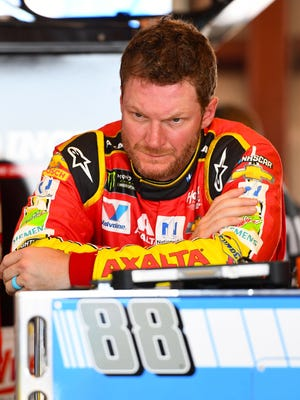 Dale Earnhardt Jr. supported Americans right to protest in a tweet Monday morning.