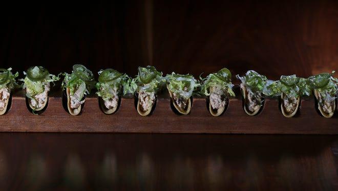 The Smoked Fish Taquitos served at Guaca Mole.Jan. 4, 2017