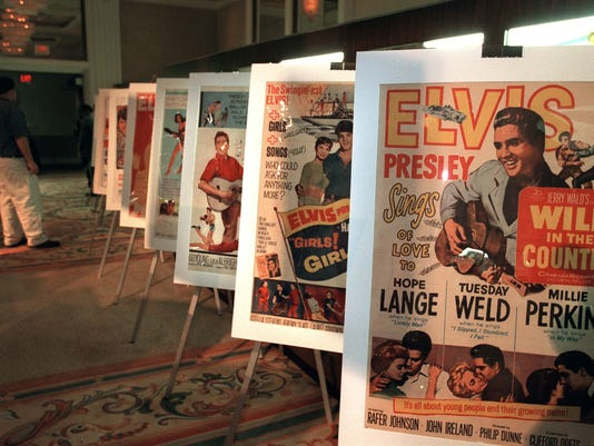 Movie Posters featuring the films of Elvis Presely