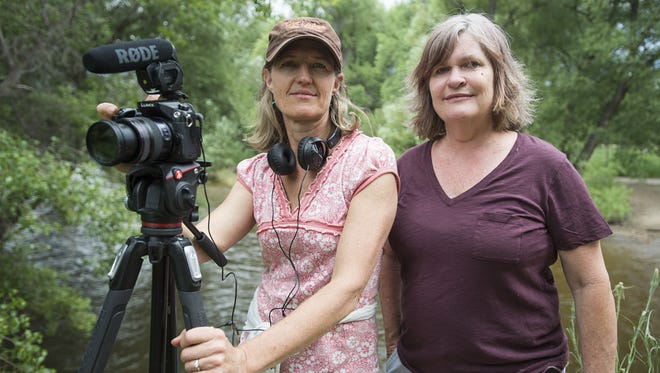 """Mona Maser and Shari Due use documentary film to shed light on Northern Colorado issues. The pair are currently producing """"Watering the West,"""" a film focusing on water usage on the Cache la Poudre River."""