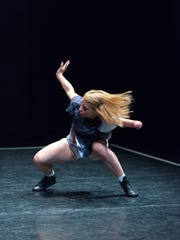 The contemporary dance company Candoco performs at