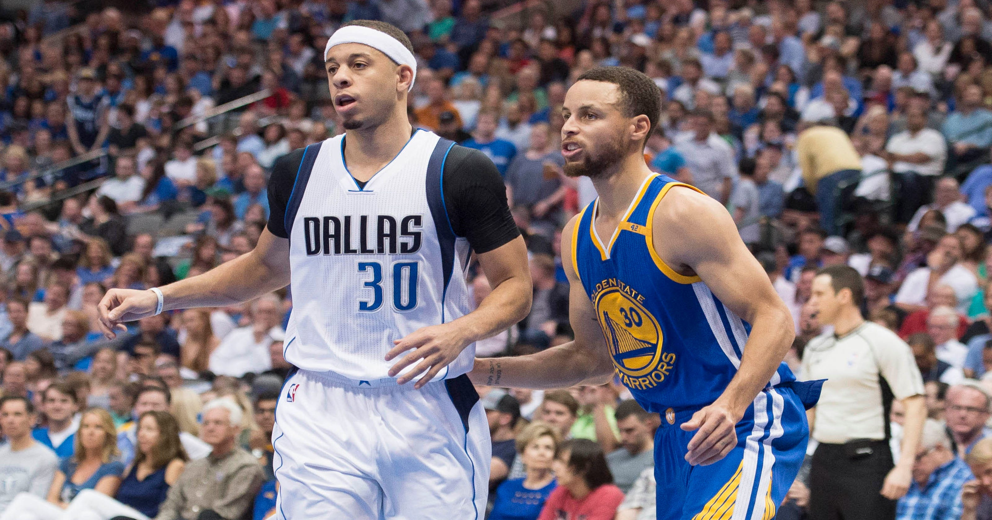 0d6ada36a66 Seth Curry thinks he s a better shooter than older brother Steph Curry
