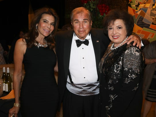 Gold Sponsors Eugenie and Ron Lavo, and Nancy Tapik