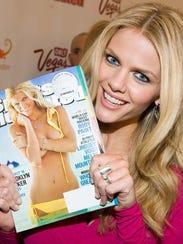 Model Brooklyn Decker attends the Sports Illustrated