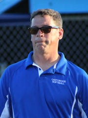 Jerry Twigg served the last two years as Ladywood softball