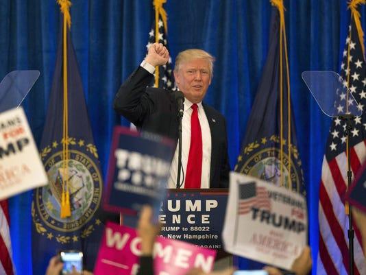 AP CAMPAIGN 2016 TRUMP A ELN USA NH