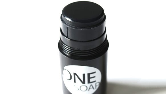 OneSoap can be used to scrub everything from your head