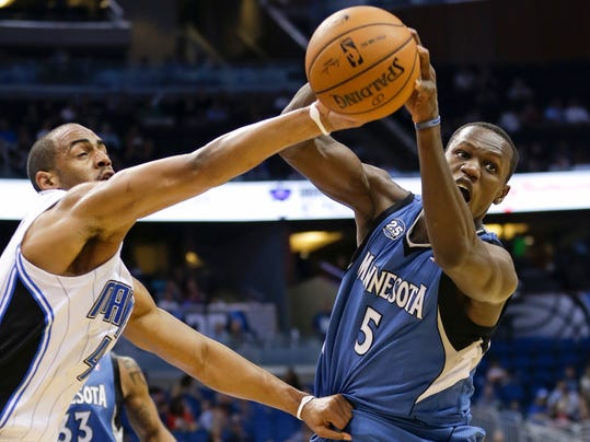 Timberwolves Magic Basketball