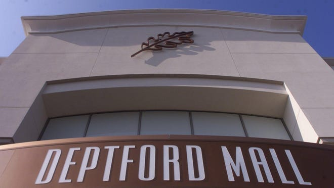 --Signage above one of the entrances to the Deptford Mall. Photo by Ron Karafin