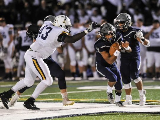 Toms River North at Howell football in Howell on Sept.