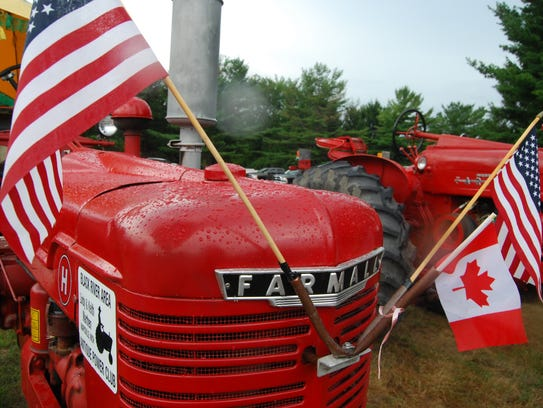 Keith Marthen, of Marysville, had a Farmall tractor