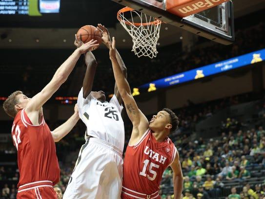 Basketball gives Oregon's Chris Boucher a shot at life