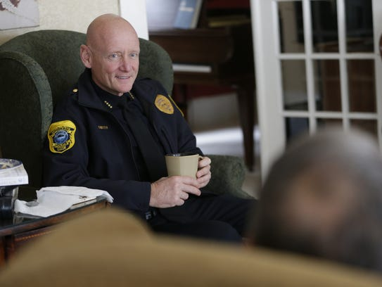Green Bay Police Chief Andrew Smith talks about how