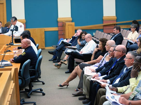 The Corpus Christi City Council has a special meeting