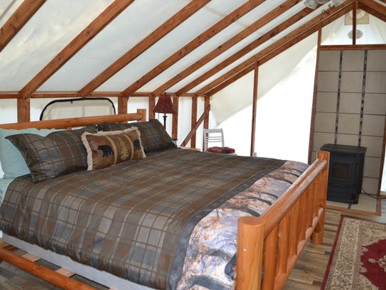 The Tahuya Adventure Resort has two luxury glamping-style