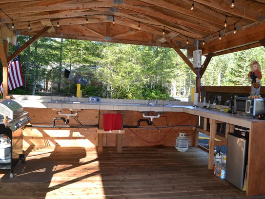Guests at the Tahuya Adventure Resort can use the kitchen