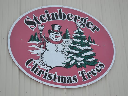 The Steinberger Christmas Tree Farm is at 655 E. County