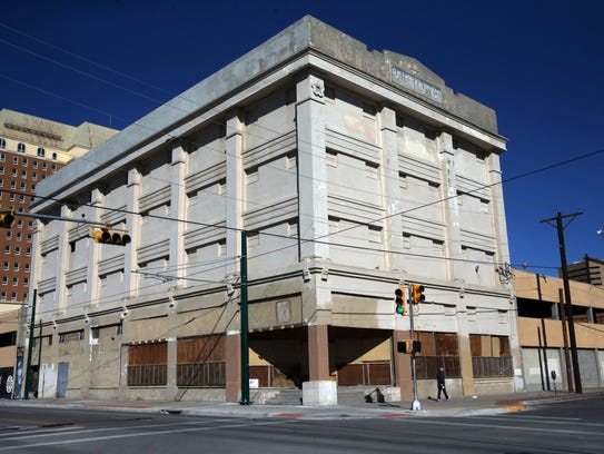 The Haymon-Krupp building at 117 West Overland Ave.